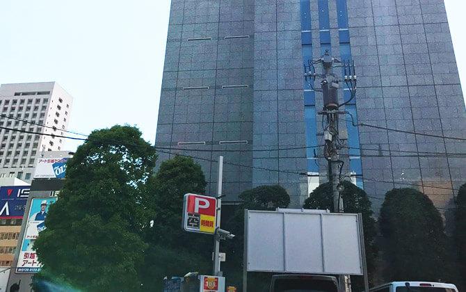 JR新橋駅ルート4