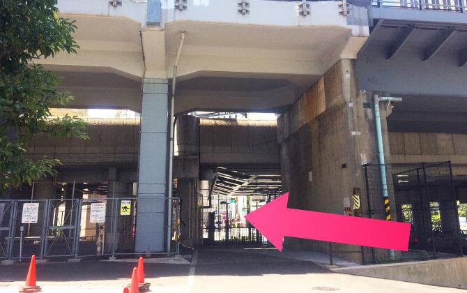 汐留駅ルート4